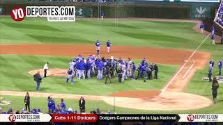 Los Dodgers Campeones de la Liga Nacional 2017