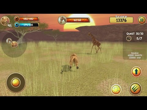 hqdefault Wild Lion Simulator 3D Android Gameplay #16 Technology