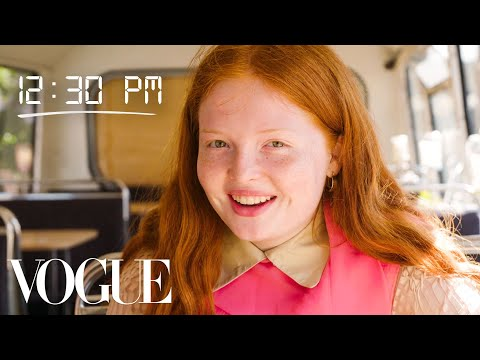 How Model Tess McMillan Gets Runway Ready | Diary of a Model | Vogue