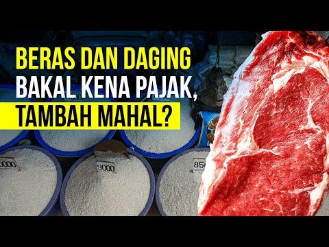 Beras Dan Daging Bakal Kena PPN, Bagaimana Pengaturannya?