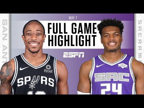 San Antonio Spurs at Sacramento Kings | Full Game Highlights