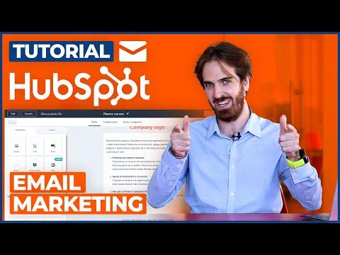 Tutorial HubSpot - Email Marketing ¿Cómo crear una campaña?