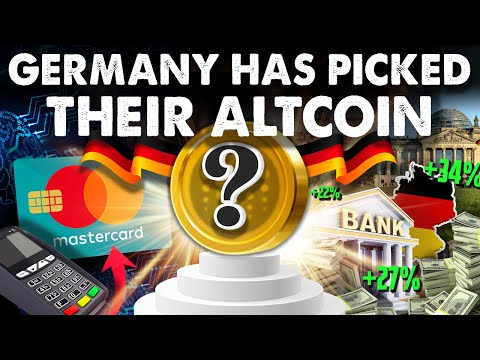 This ALTCOIN Has Direct Ties to Germany's Central Bank!!! Mastercard Too??