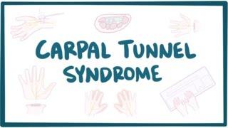 Carpal tunnel syndrome - causes, symptoms, diagnosis, treatment & pathology