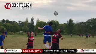 Artilleros Brasil vs. Deportivo Yuriria 5 de Mayo Soccer League