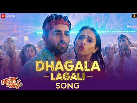 Dhagala Lagali Kala Song Lyrics English&Hindi | Dream Girl