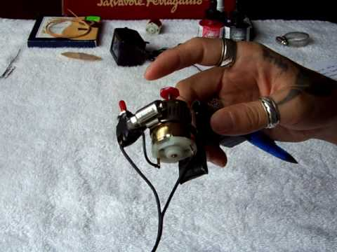 This is a second part of how to make a homemade tattoo gun