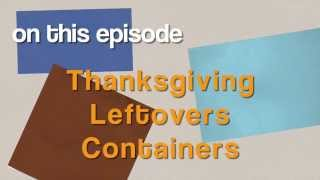 All-Star Designers Holiday Series - Thanksgiving Leftovers Containers