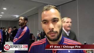 Alex el brasileño del Chicago Fire habla sobre la temporada 2015