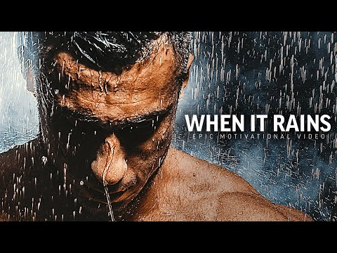 WHEN IT RAINS - Powerful Motivational Speech Video (Featuring Brian M. Bullock)