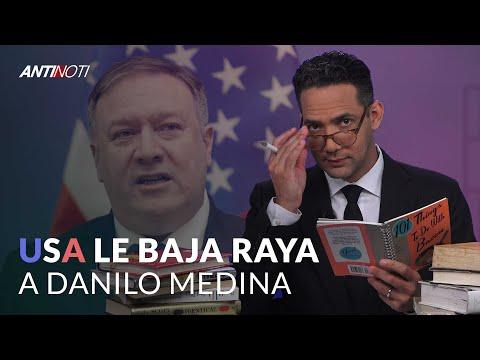 La Llamada De POMPEO A DANILO MEDINA - #Antinoti Julio 16, 2019