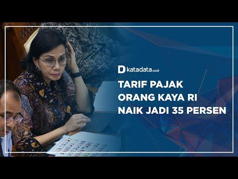 Tarif Pajak Orang Kaya RI Naik Jadi 35 Persen   Katadata Indonesia