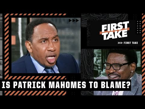 Stephen A. & Michael Irvin get heated talking about Patrick Mahomes   First Take