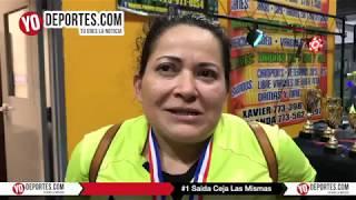 Saida Ceja Las Mismas Campeonas AKD Women Premier Academy Soccer League