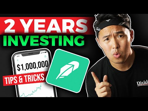 2 Years of DIVIDEND INVESTING - Robinhood and M1 Finance RESULTS