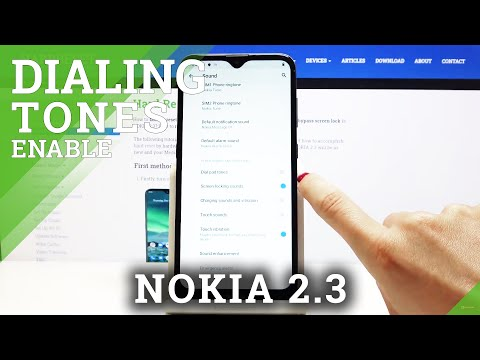 How to Disable Dial Pad Sounds in NOKIA 2.3 – Turn Off Dial Sounds