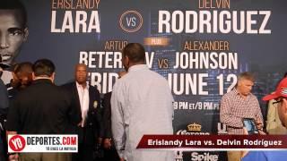 Erislandy Lara vs.  Delvin Rodriguez