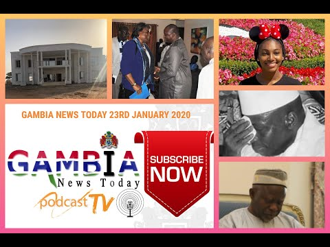 GAMBIA NEWS TODAY 23RD JANUARY 2020