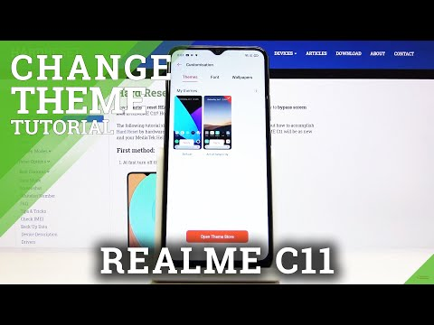 How to Restore Default Theme in REALME C11 - Find Theme Settings