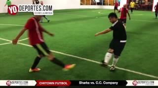Sharks vs C.C. Company Chitown Futbol 3º y 4º Lugar del Jueves