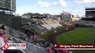 Nuevos  bleachers en Wrigley Field