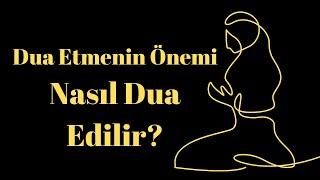 Duanız Olmasa Ne Öneminiz Var? / Kuran'a Göre Dua Etmenin Önemi / Emre Dorman
