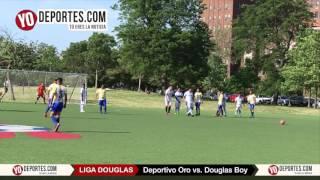 Deportivo Oro arrebata triunfo al Douglas Boy en la Liga Douglas