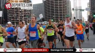 Chicago Marathon Sunday October 9 2016
