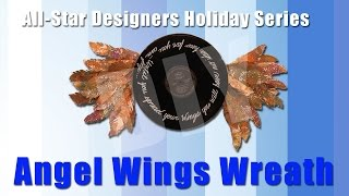 Angel Wings Wreath