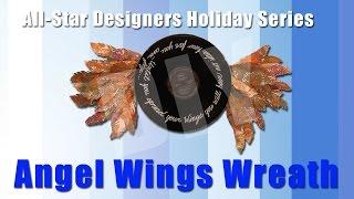 Angel Wings Wreath