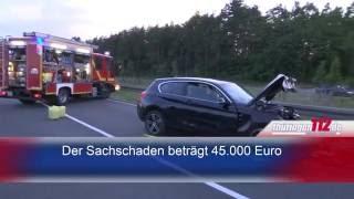 Tödlicher Verkehrsunfall auf der L1048 nahe Rudolstadt