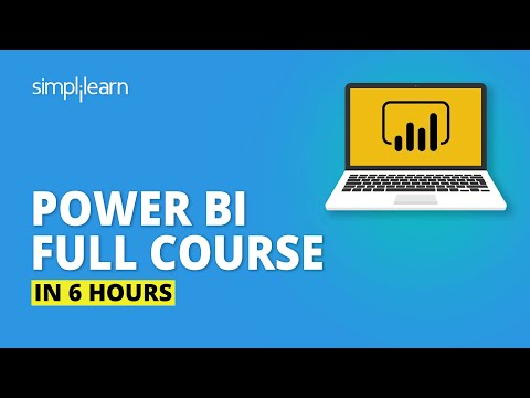 Power BI Full Course | Learn Power BI In X Hours | Power BI Tutorial For Beginners | Simplilearn