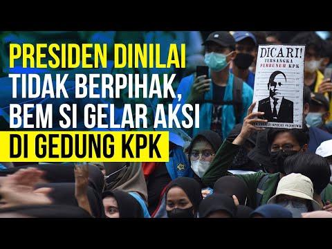 Jelang Pemecatan Pegawai, BEM SI Gelar Demo di Depan Gedung KPK