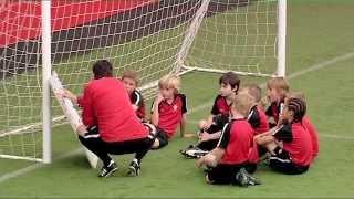 Soccer Coaching Attacking Drill: Attacking 1v1/2v1