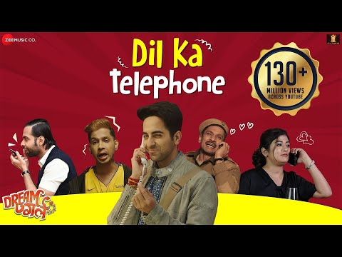 Dil Ka Telephone Song Hindi&English Lyrics – Dream Girl 2019