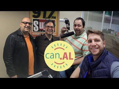 ENTREVISTA NA RÁDIO SUPER NOTÍCIA 91,7 FM   Amigos da Luz   Humor e Espiritismo