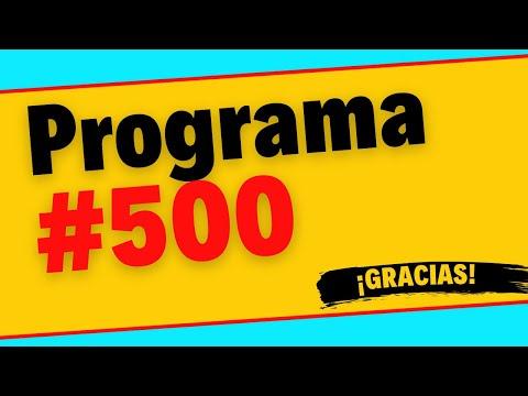 500 Programas de TRADING en VIVO, ¡Gracias a todos los Traders que nos han acompañado!