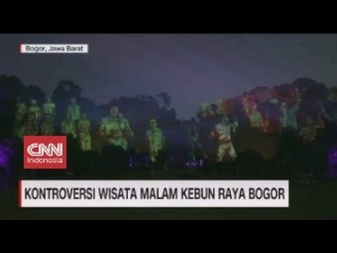 Kontroversi Wisata Malam Kebun Raya Bogor
