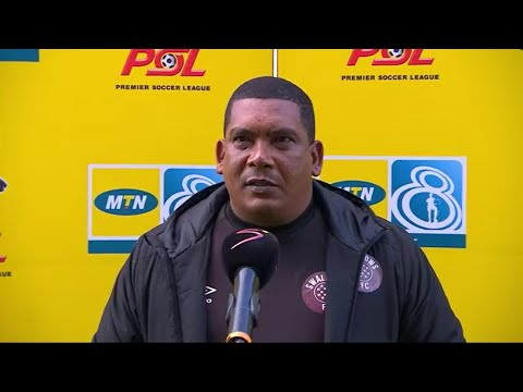 MTN8 | SF2 | 1st Leg | Cape Town City v Swallows FC | Post-match interview with Brandon Truter