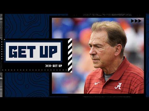 Is Alabama really on upset alert vs. Ole Miss?   Get Up