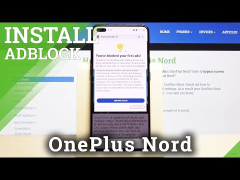 How to Block Ads with Opera in OnePlus Nord – Activate Ads Blockade