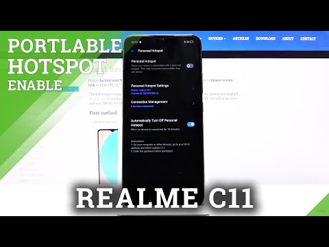 How to Activate Portable Hotspot in REALME C11 – Share Wi-Fi