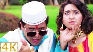 A Aa Ee O O O 4K Ultra HD Video Song , Karisma Kapoor & Govinda , Raja Babu