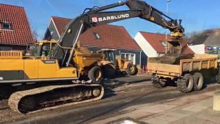 Gang i arbejdet tirsdag formiddag på Hostrupvej