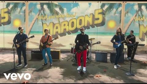 Download Music Maroon 5 - Three Little Birds