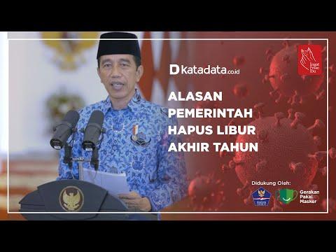 Alasan Pemerintah Hapus Libur Akhir Tahun | Katadata Indonesia
