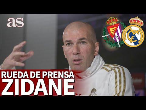 VALLADOLID-REAL MADRID | Rueda de prensa de ZIDANE EN DIRECTO | Diario AS