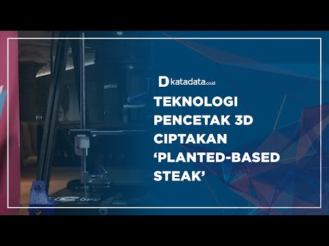Teknologi Pencetak 3D, Ciptakan 'Planted-Based Steak'   Katadata Indonesia