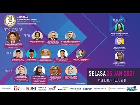 """Bisnis Indonesia Business Challenges 2021 """"Akselerasi Pemulihan Ekonomi"""" Sesi II"""