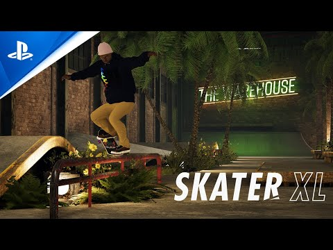 Skater XL - The Warehouse by Yaky Available Now | PS4